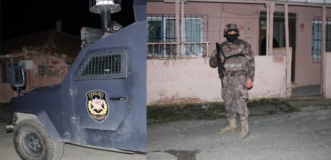 İstanbul'da şafak vakti çete operasyonu