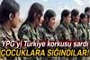 PKK/PYD-YPG terör örgütü bölgede çocukları zorla silah altına alıyor.