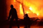 Prag'ta feci otel yangını!