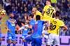 Göztepe'nin golcü oyuncusu Adis Jahovic, Fenerbahçe'ye son dakikada yedikleri golle kaybettikleri...