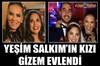 Yeşim Salkım'ın kızı Gizem, Ozan Düzdaş'la görkemli bir tören eşliğinde dünya evine girdi...