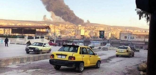 YPG'li teröristler halkı canlı kalkan yapıyor!