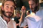 David Beckham'dan Nusret tuzlaması!
