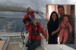 Zeynep Beşerler eşiyle denize açıldı