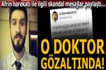 Sosyal medyada terör propagandası yapan doktor gözaltında