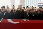 Devletin zirvesi Afrin şehidini uğurladı!