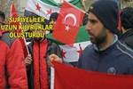 Suriyeli sığınmacılar gönüllü askerlik başvurusunda bulundu
