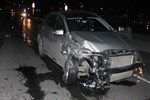 Zeytinburnu'nda kaza yapan araç dubaları biçti!