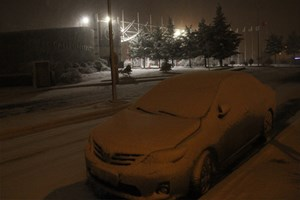 Kocaeli'nde yoğun kar yağışı
