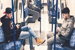 Metroda Mesut Özil modası!