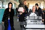 Demet Akalın, İtalya'dan 8 valizle döndü