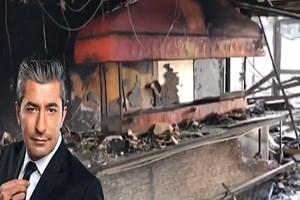 Erkan Petekkaya'nın restoranı yandı