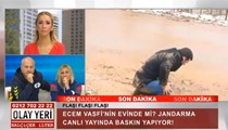 Muhabir canlı yayında yere yuvarlandı!
