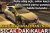 Atatürk Havalimanı'nda dur ihtarına uymayan araç kaçtı, polis ateş açtı!
