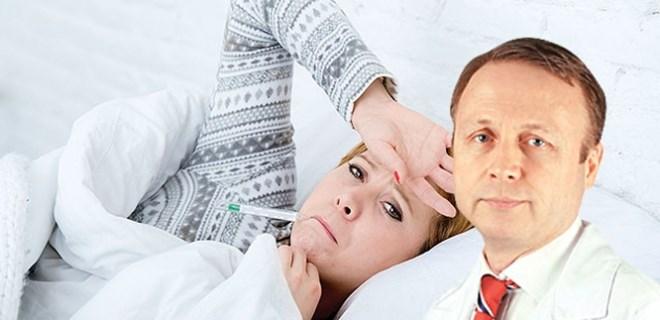Grip işitme kaybı yapabilir