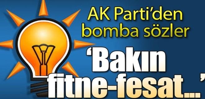 AK Partili Elitaş: