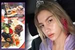Aleyna Tilki'den suşili, havyarlı kahvaltı!