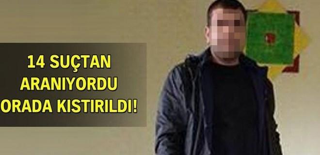 Gaziantep'de 'Zinci' lakaplı katil yakalandı!
