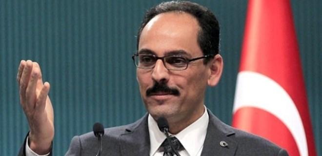 Cumhurbaşkanlığı Sözcüsü İbrahim Kalın'dan flaş sözler