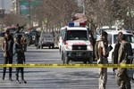 Afganistan'da bombalı intihar saldırısı