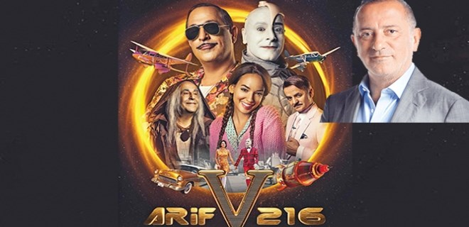 Cem Yılmaz'ın Arif v 216 filmi kaç paraya mal oldu?