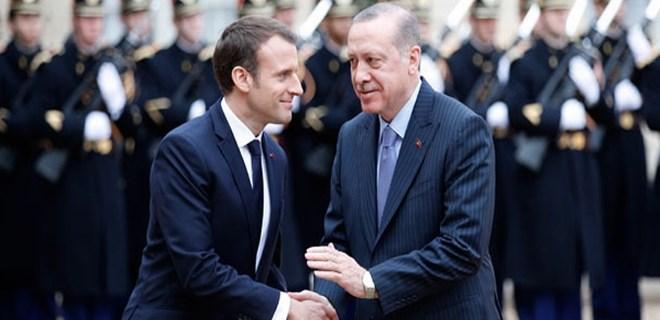 Erdoğan'a Paris'te resmi karşılama
