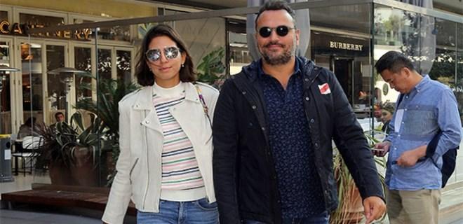 Ali Sunal ve eşinin kahvaltı keyfi