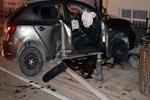 Kiralık araçla dehşet veren kaza!