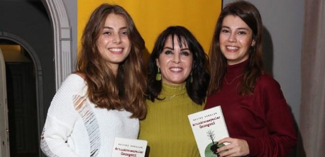 Sevinç Erbulak yeni yaşını ve yeni kitabını kutladı