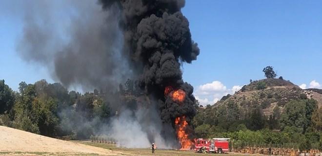 California'da 24 saatte 2 uçak kazası!