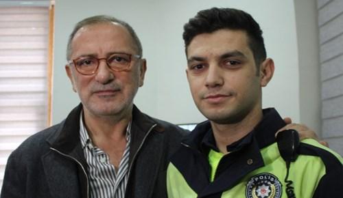 Fatih Altaylı o polis memuruyla bir araya geldi