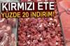 Adana Kasaplar Tavuk Balık Eti Şarkütericiler Odası ete yüzde 10 indirim yaptı, kasapların...