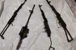 Yüksekova'da PKK'ya ait silah ve mühimmat ele geçirildi
