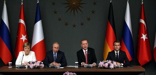 Suriye zirvesi sonrası liderlerin ortak açıklamaları