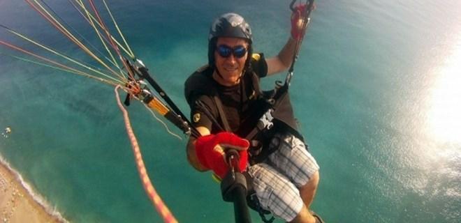Yamaç paraşütü pilotunun acı ölümü
