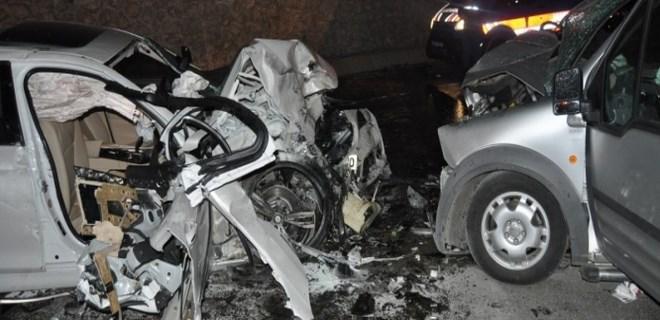 Bartın'da trafik kazası: 2 ölü, 5 yaralı