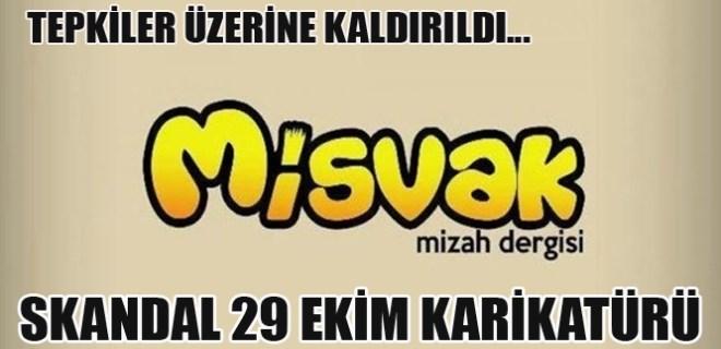 Misvak dergisinden skandal 29 Ekim karikatürü!