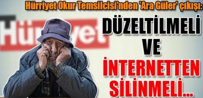 Faruk Bildirici'den 'Ara Güler' çıkışı!