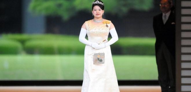 Japon prenses Ayako dünya evine girdi