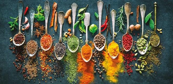 Sağlık için sağlıklı baharatlar kullanın