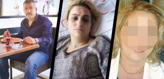 Kurşunlara hedef olan kadın feryat etti: