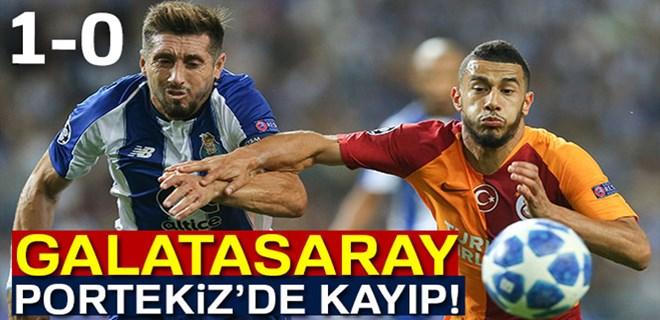 Galatasaray, liderliği Porto'ya kaptırdı