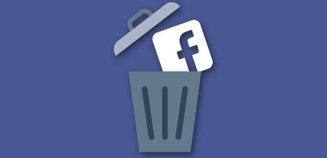 Facebook'ta hesap silme süresi 30 güne çıktı