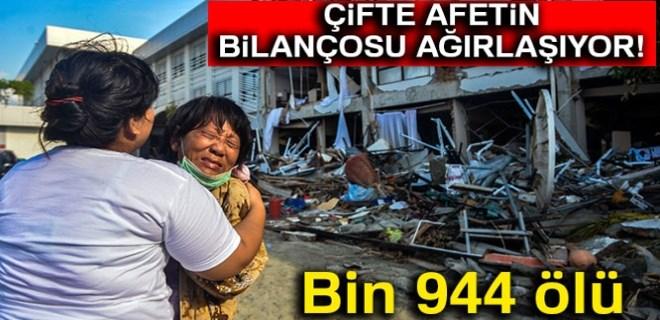 Endonezya'da felaketin bilançosu ağırlaşıyor