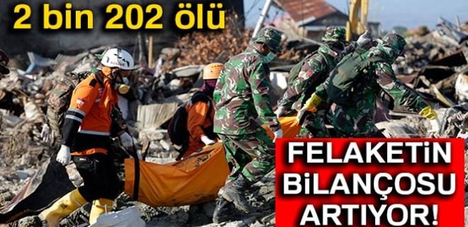 Endonezya'da felaketin bilançosu her geçen gün artıyor