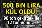 Karaman'daki yangında 500 bin TL'lik hasar!