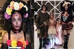 Metin ve Adriana'dan Cadılar Bayramı paylaşımı