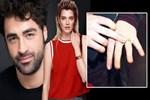Derya Şensoy'un parmağındaki yüzük dikkat çekti!