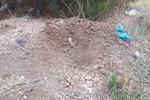 5 aylık bir bebek mezara gömülmüş şekilde bulundu