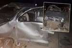 Şoförünün kalp krizi geçirdiği otomobil takla attı!